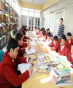 Library and Cyber Point at Nosegay Public School(Happy Ma'am)