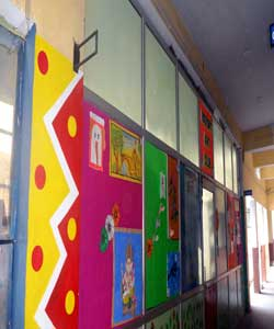 Art & Craft Room at Nosegay Public School(Happy Ma'am)