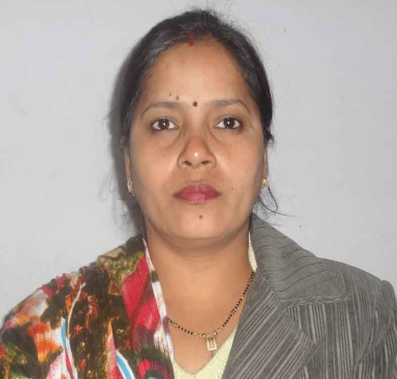 Mrs. Prabha Jyala faculty at Nosegay Public School(Happy Ma'am)