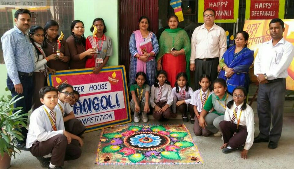 Inter-House Rangoli Competition 2019