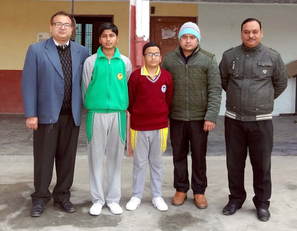 Adarsh_Maurya and Arnav_Kumar qualified for the SAINIK SCHOOL GHORHAKHAL , Class IX - Entrance Exam at Nosegay,school Achievements,Achievements of Nosegay,school Achievements